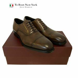 Boot New York Leather Men's Oxford Size 8